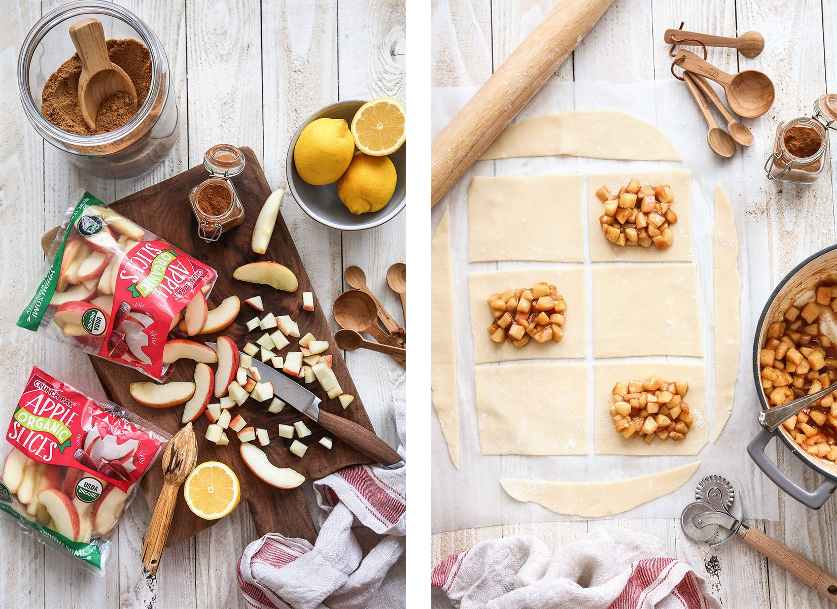 Apple Pie Pop Tarts | Vegan friendly with gluten free and refined sugar free option