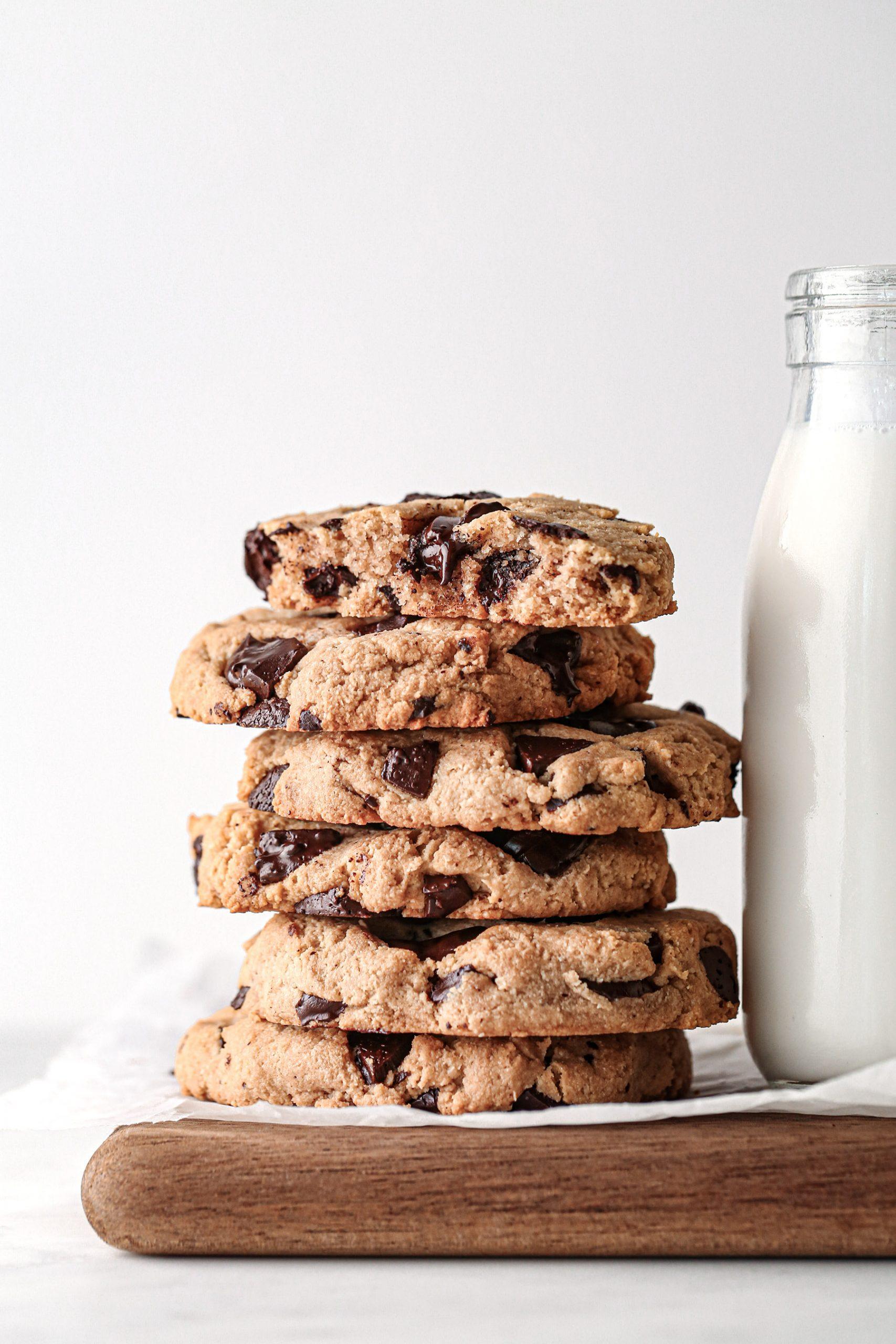 Vegan Gluten-Free Chocolate Chip Cookies