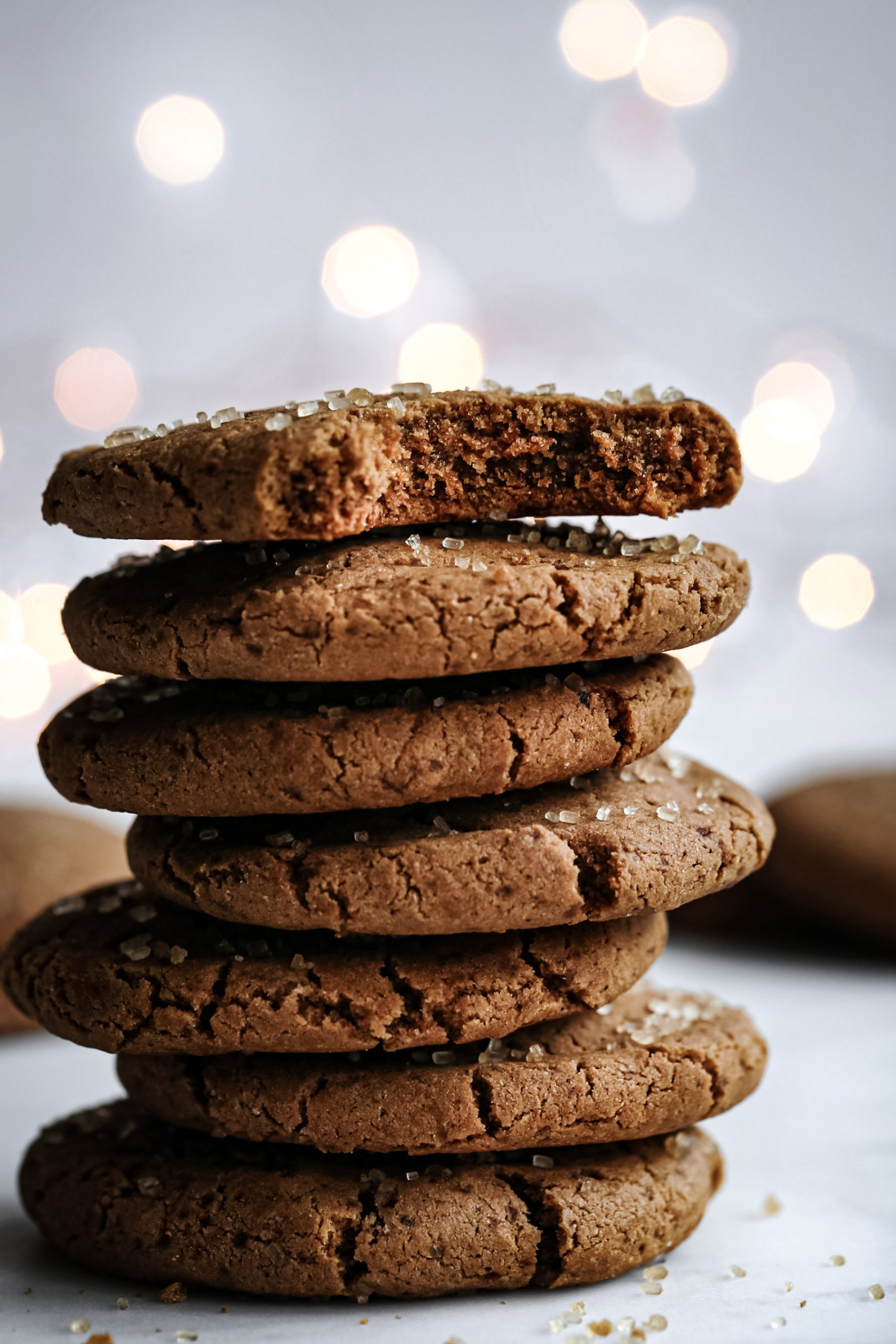 Soft Gingerbread Cookies | Vegan friendly with gluten and refined sugar free option