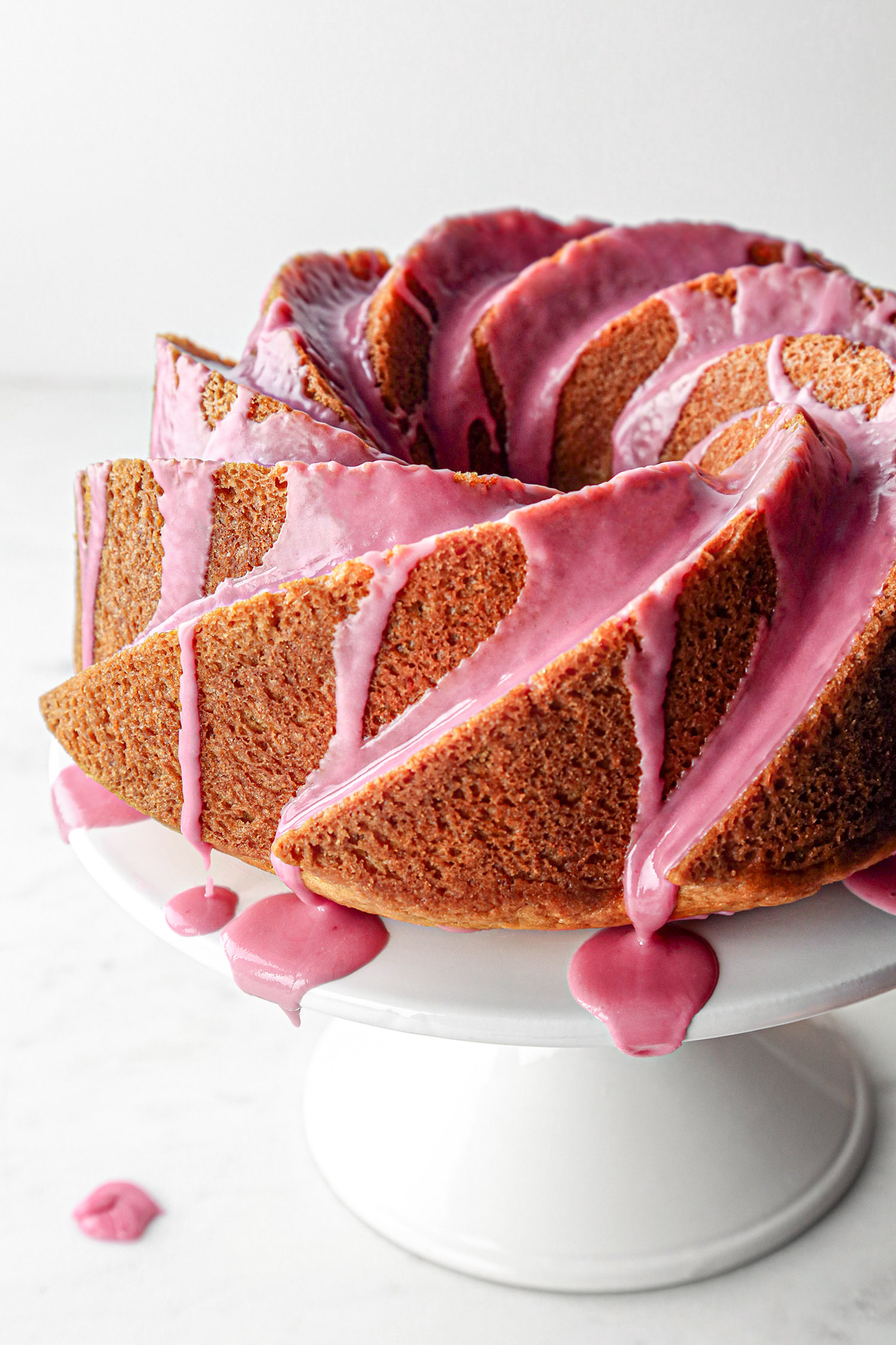 Blood Orange Bundt Cake   Vegan Friendly with Gluten Free Option.