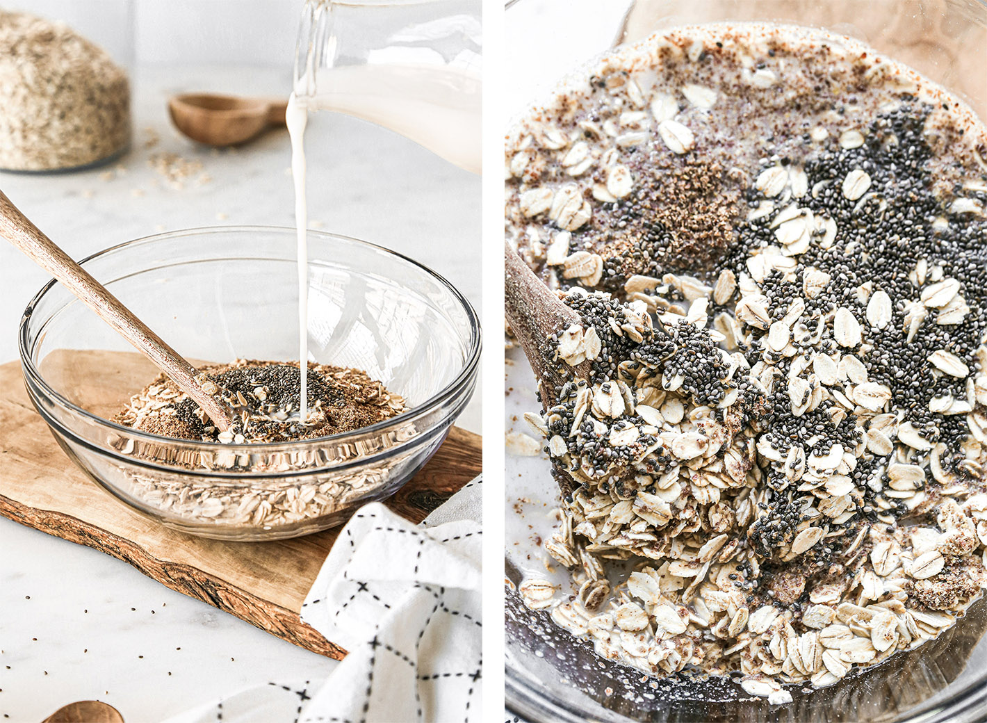 Superfood Overnight Oats Ingredients | Vegan and Gluten-Free