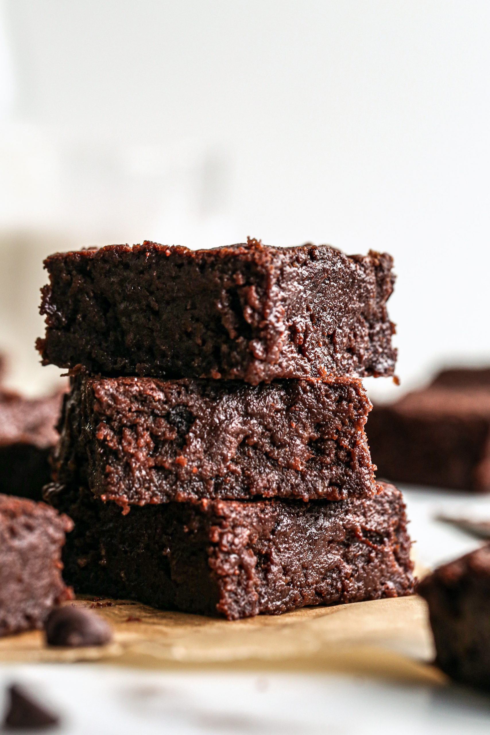 Fudgy Vegan Brownies | Gluten Free and Refined Sugar Free Options Included