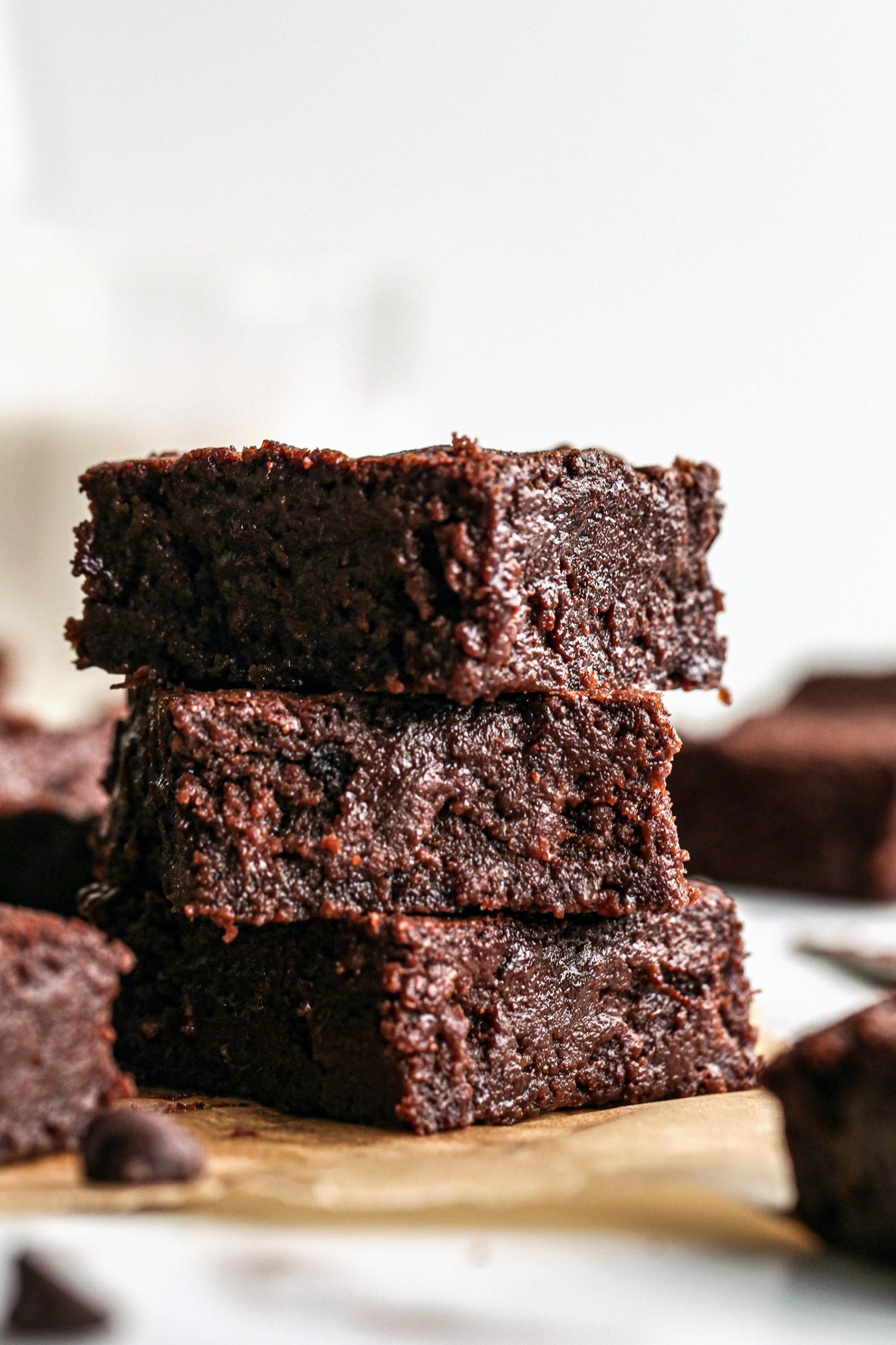 Fudgy Vegan Brownies Wife Mama Foodie