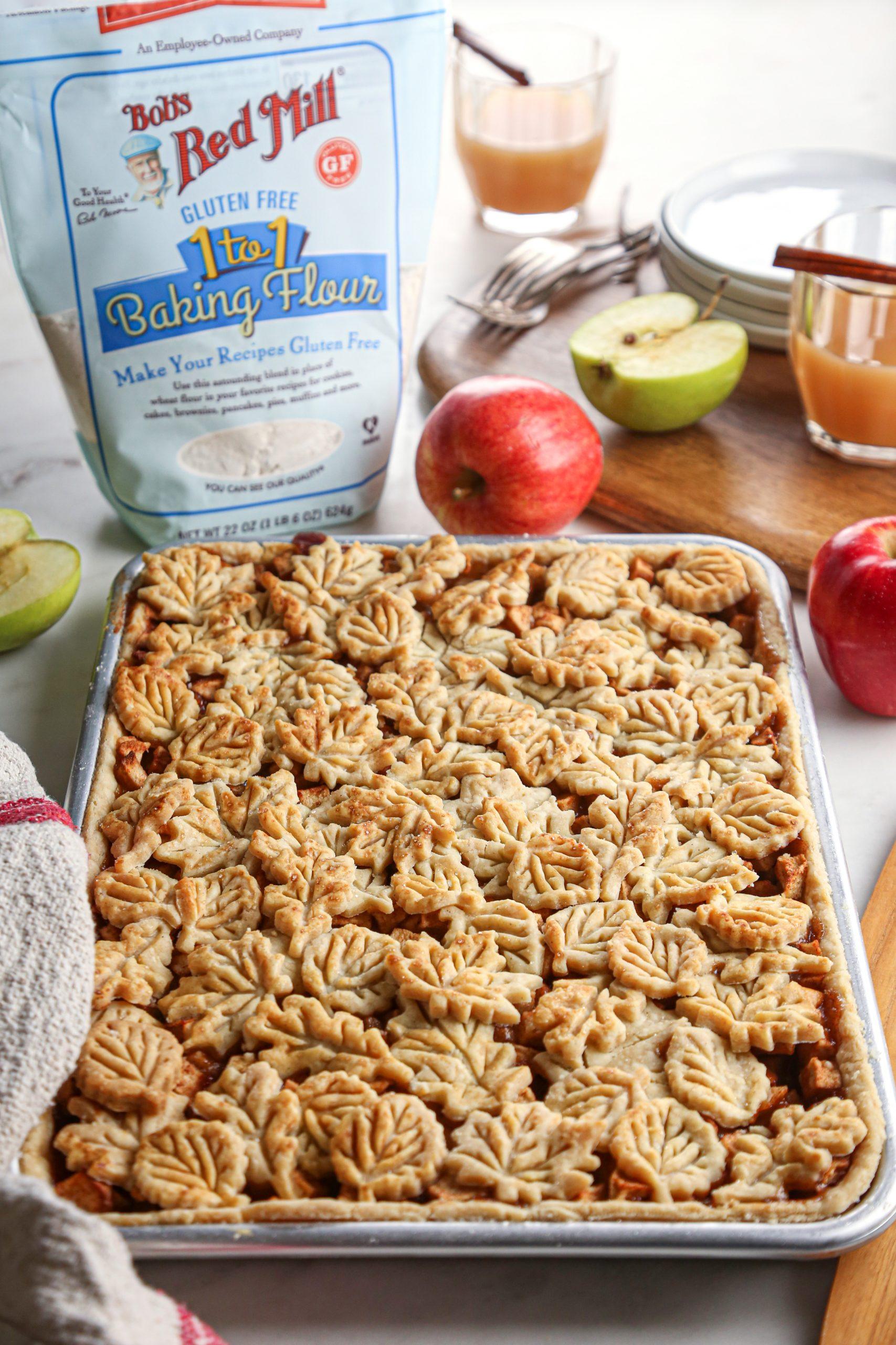 Apple Slab Pie | Vegan friendly with gf alternative