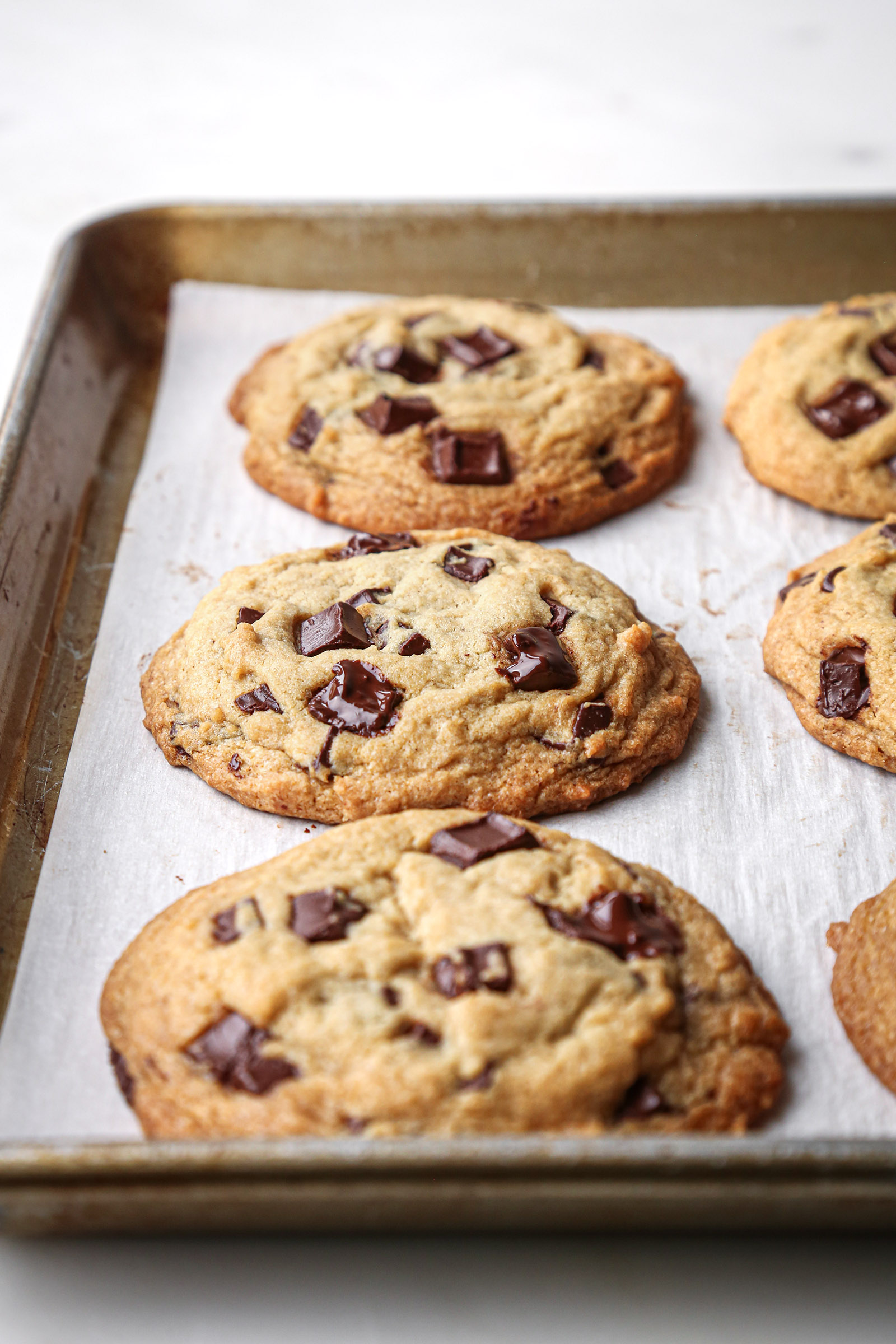 Best Chewy Chocolate Chip Cookies | Vegan friendly with gluten-free option