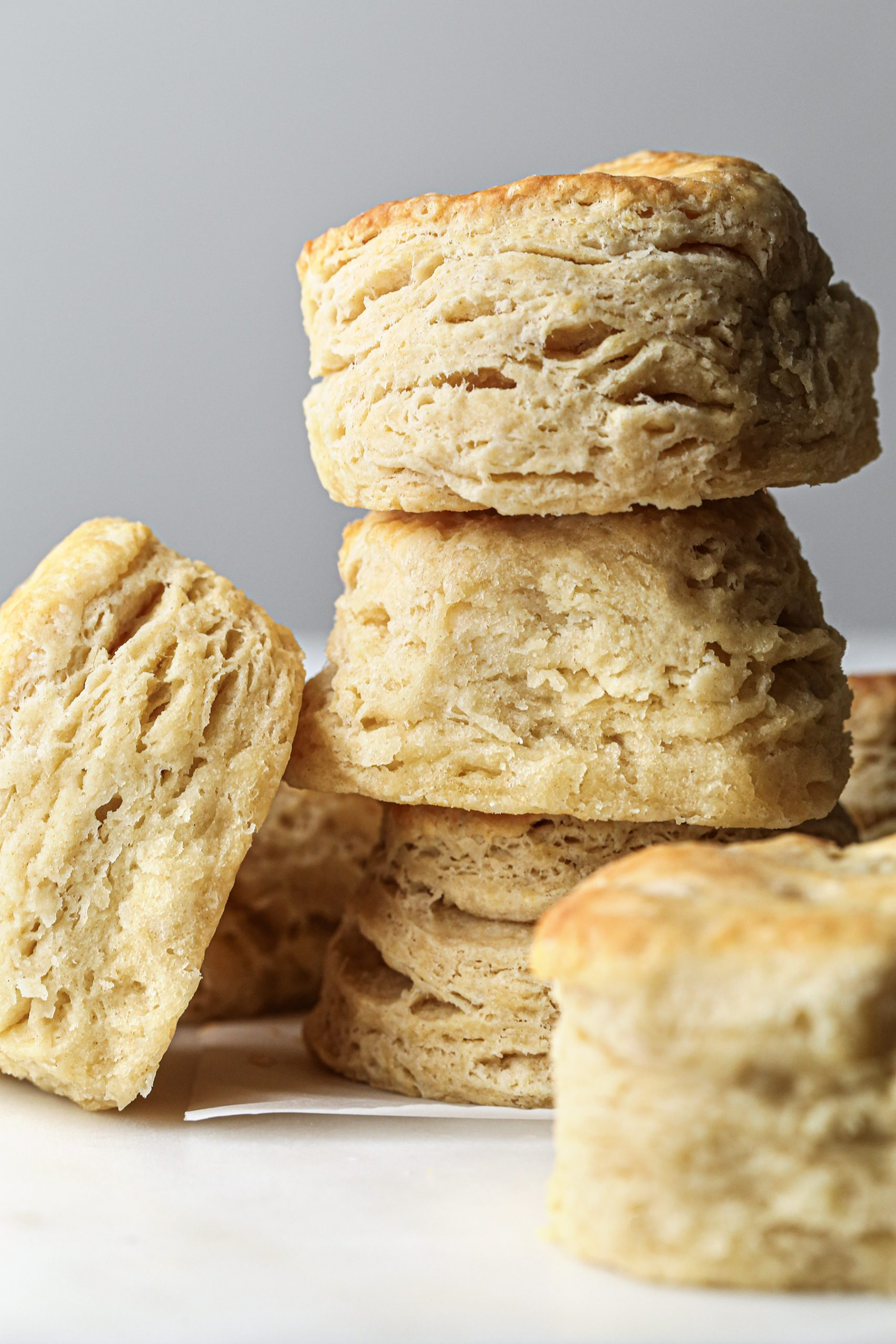 Fluffy Biscuits | Includes vegan option!