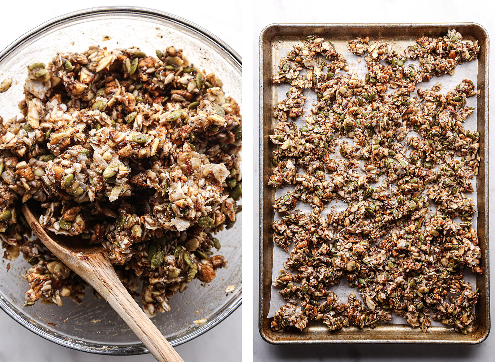 Fruit-Sweetened Grain-Free Granola | Vegan plus free of grains, gluten, dairy, and refined sugar