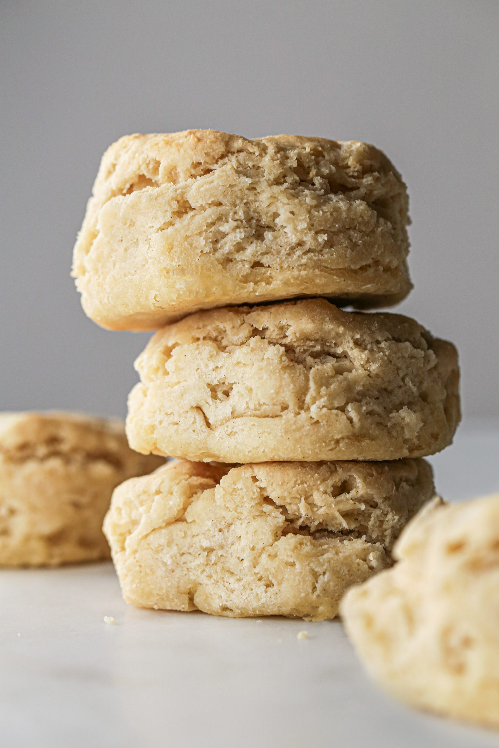 Fluffy Gluten-Free Biscuits | Includes a vegan option.