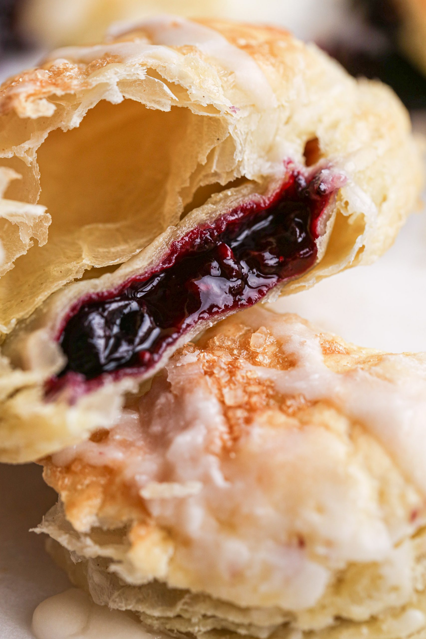 Heart-Shaped Berry Turnovers