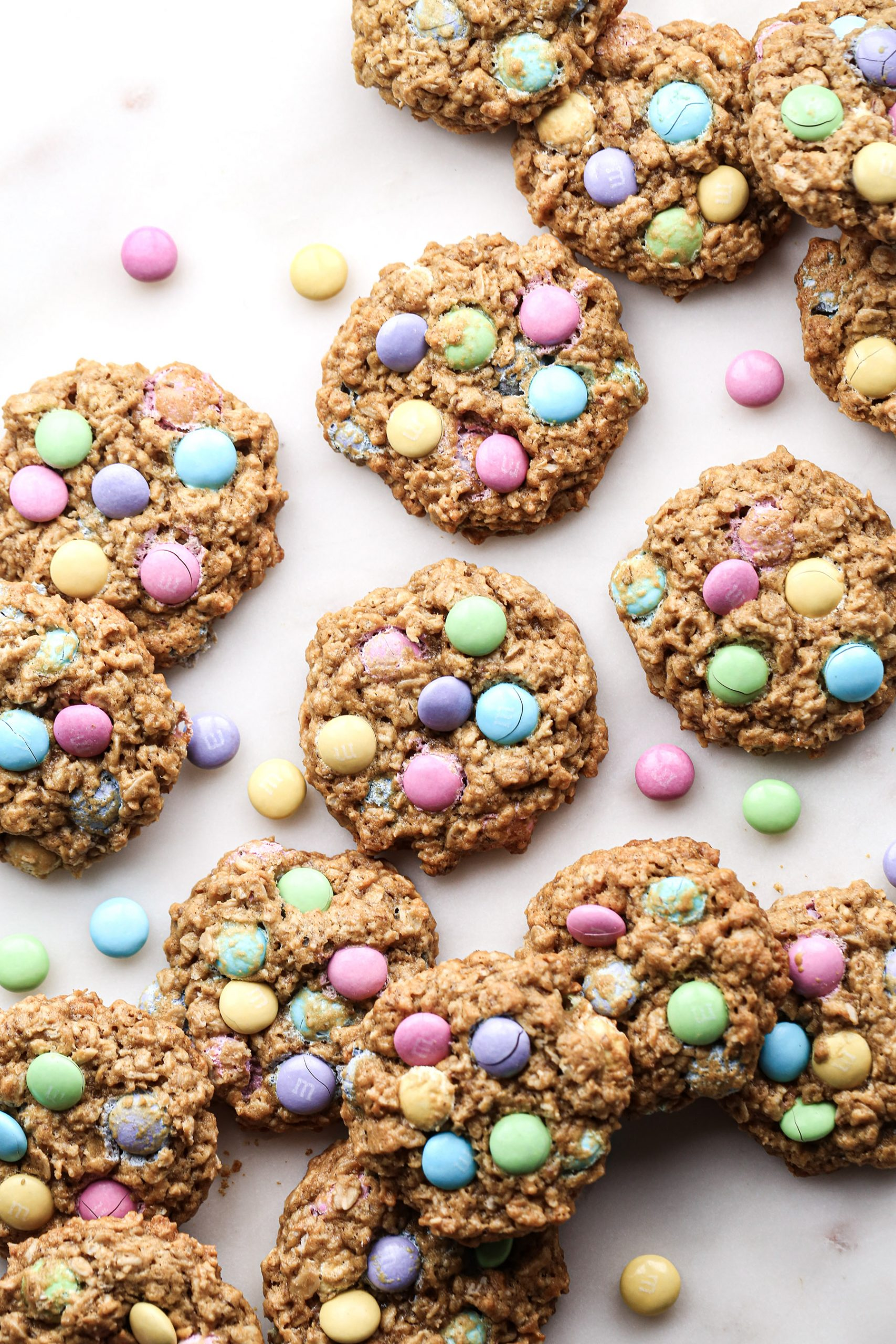Oatmeal M&M Cookies | Vegan Friendly with Gluten-Free Option
