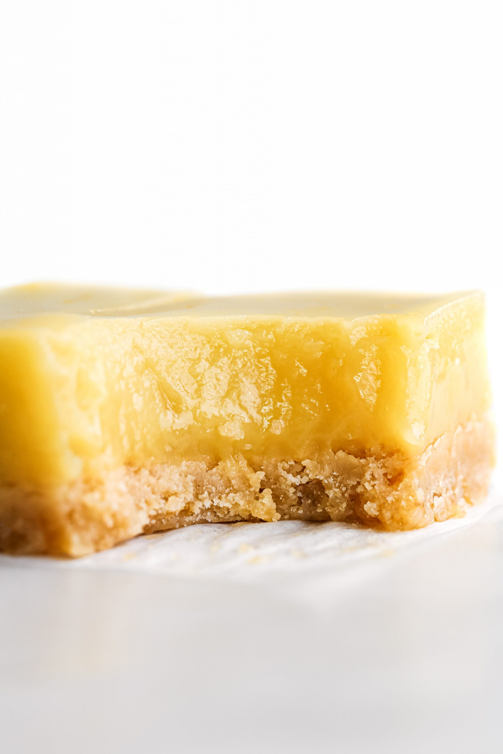 Naturally Sweetened Lemon Bars Bite